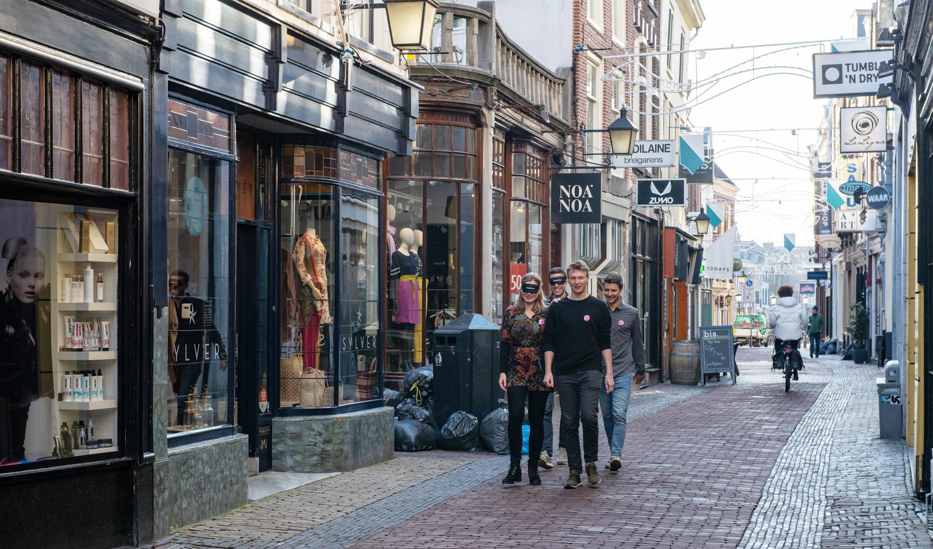 Loop 21 juni mee met de blind walk Utrecht