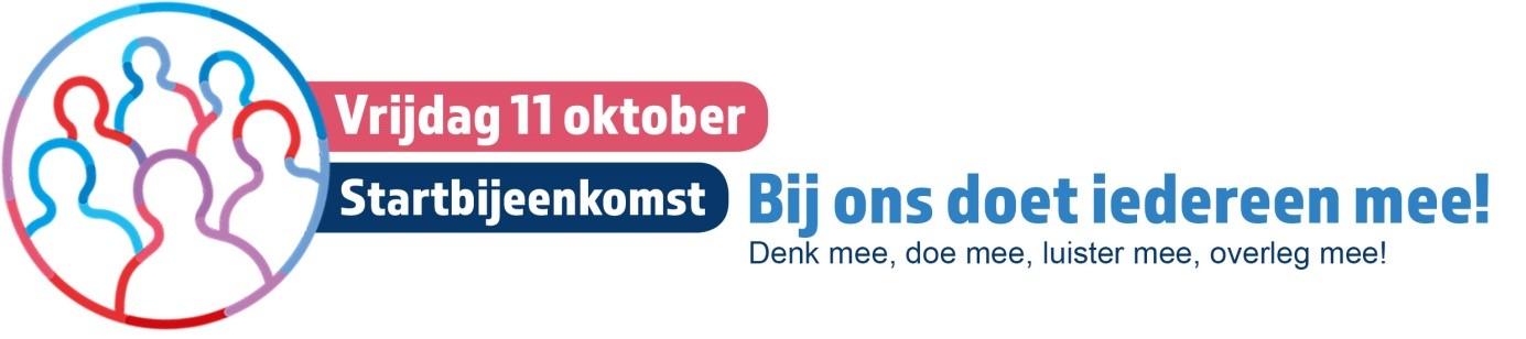 Logo Startbijeenkomst gemeente Sint Anthonis - Week van de Toegankelijkheid