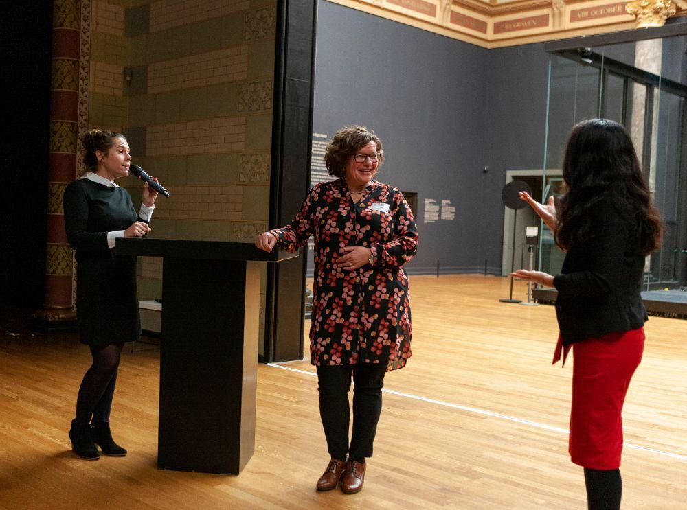Illya Soffer in het Rijksmuseum