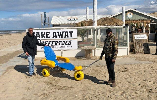 Haagse stranden steeds toegankelijker